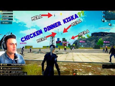 4 Hacker In 1 Lobby PUBG MOBILE - Chickecn Dinner Kiska?? RAGNAR Live Gaming Pakistan