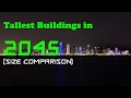 Tallest Buildings in 2045 (size comparison)