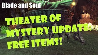 [Blade and Soul] Theater of Mystery Event Update: Register for FREE Items!