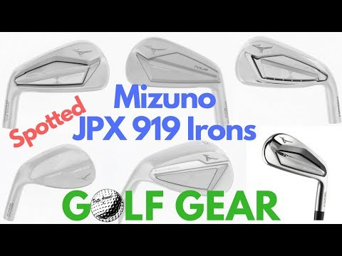 Mizuno JPX 919 Irons Spotted
