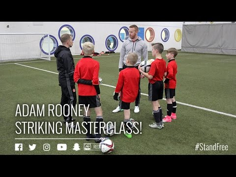 Adam Rooney shows them how it's done!