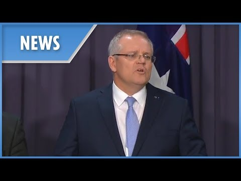 New Australian PM Scott Morrison gives his first address Mp3
