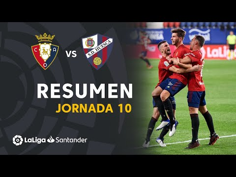Osasuna Huesca Goals And Highlights