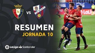 Resumen de CA Osasuna vs SD Huesca (1-1)