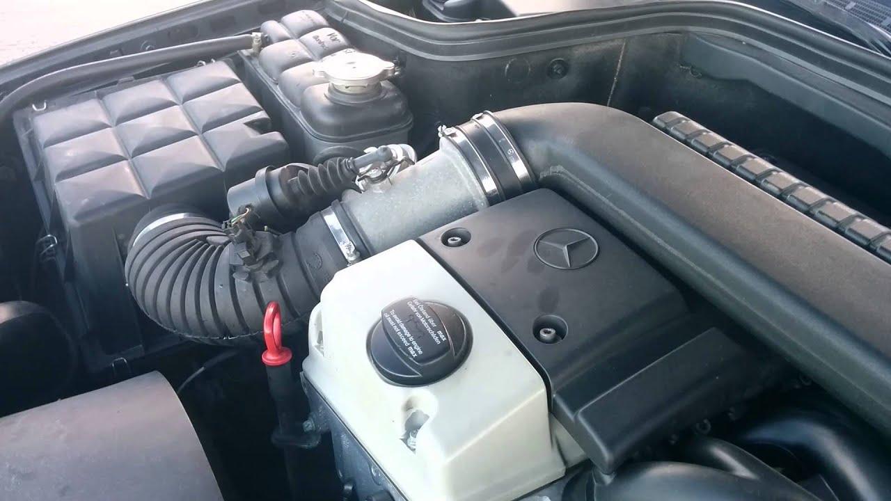 Mercedes 220d w202 1998, EPC fail
