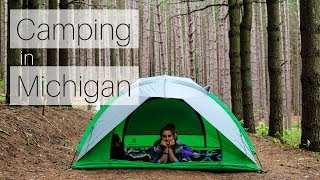Best Camping in Michigan || Sleeping Bear Dunes