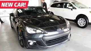 BUYING A NEW CAR! - SUBARU BRZ