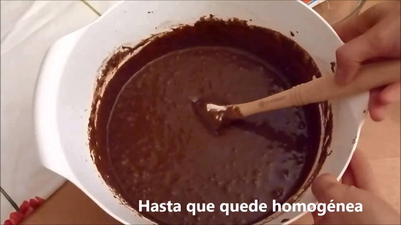 cómo hacer un pastel de chocolate
