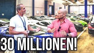 30 Millionen Euro Autosammlung! Zu besuch bei Christoph Zitzmann Teil1