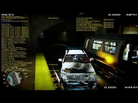 Toyota Fortuner Hilux SW4 TRD Sportivo 2015 Crash Test by Train GTA IV PC