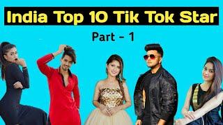 Top 10 Tik Tok Star in India 2020 Riyaz Mr Faisu Nisha Guragain Awez Darbar RK Chavda