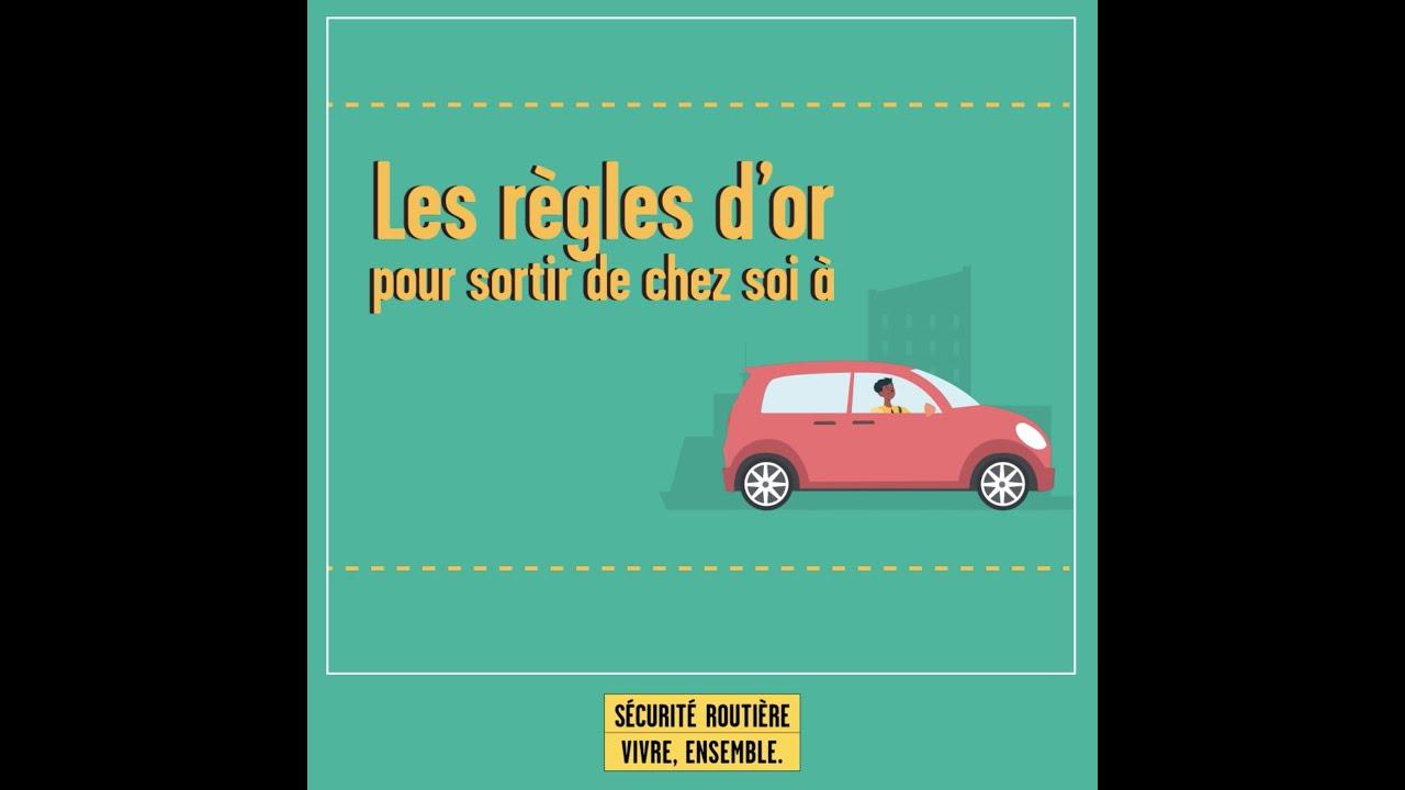 🚗 Les règles d'or pour sortir de chez soi en voiture