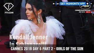 Kendall Jenner on Girls Of The Sun Red Carpet at Cannes Film Festival 2018 Day 5 | FashionTV | FTV