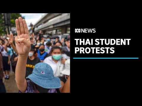 Thailand's street protests continue to grow amid calls for PM's resignation | ABC News