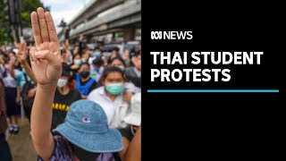 Thailand's street protests continue to grow amid calls for PM's resignation   ABC News