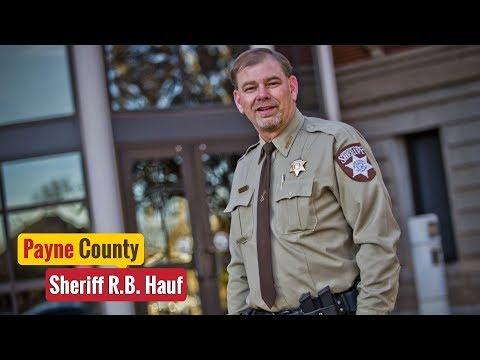Your Sheriff: Payne County - Sheriff R.B. Hauf