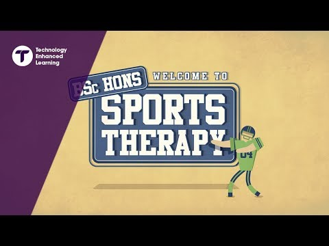 Welcome to BSc Hons Sports Therapy