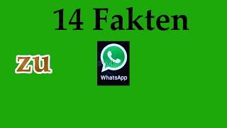 14 Fakten zu WhatsApp