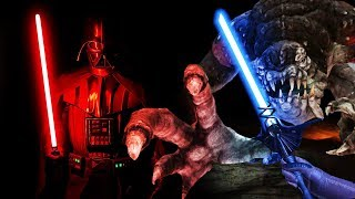 I Fought a Giant Monster with Darth Vader in Vader Immortal VR: Episode 2!