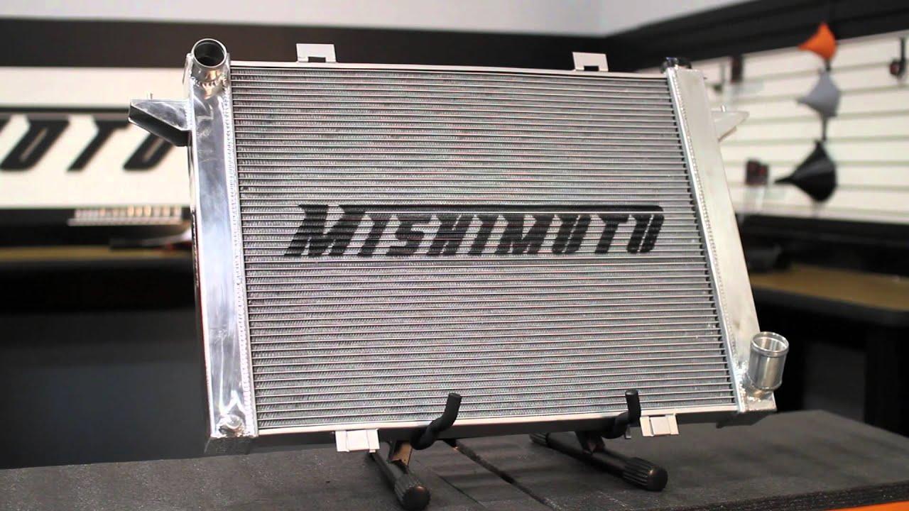 91-93 Dodge D/W250 w/ 5 9L Cummins Performance Aluminum Radiator Features &  Benefits by Mishimoto