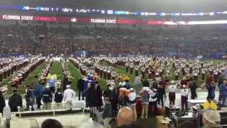 Florida State University Marching Chiefs - 2014 ACC Championship Pregame