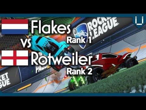 Flakes (Rank 1) vs Rotweiler (Rank 2) | Rocket League 1v1 thumbnail