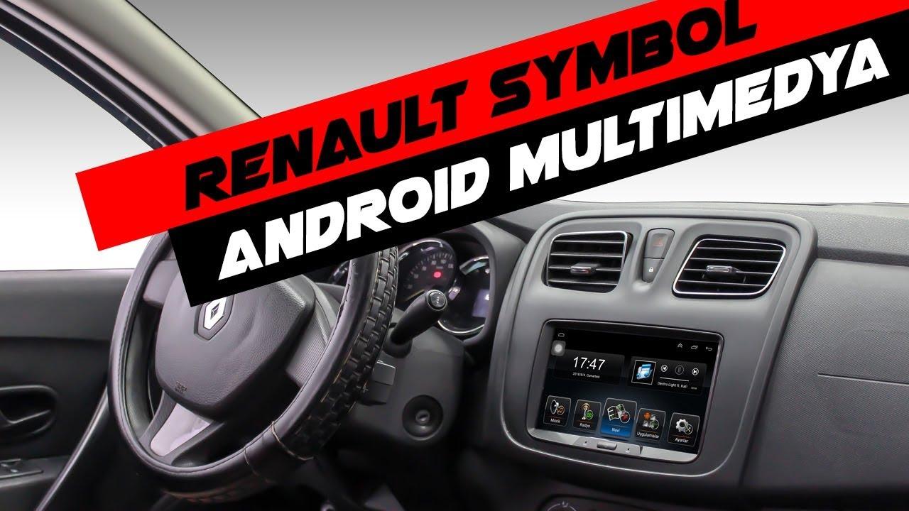 Carvocal CRV-4600 Renault Symbol Android Multimedya Sistemi Montaj Uygulaması