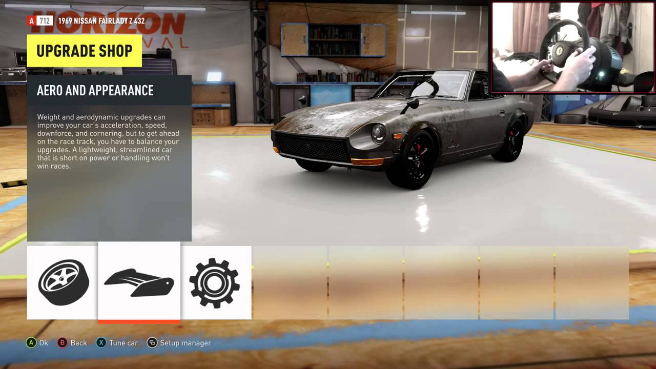 Forza Horizon 2 Drifting Build Tune #3 1969 Nissan Fairlady Z