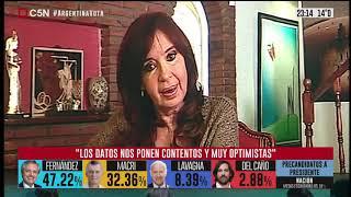 Video: El Mensaje de Cristina Fernández tras las PASO