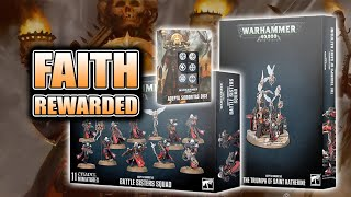 How Big Are They? 40k Sisters of Battle Wave 1: Unboxing & Build