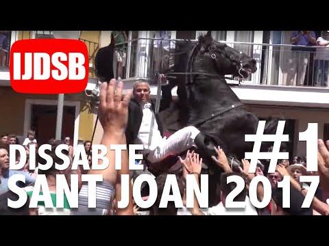 Sant Joan 2017 Dissabte: Primer toc, replec, bandera i caixer Senyor