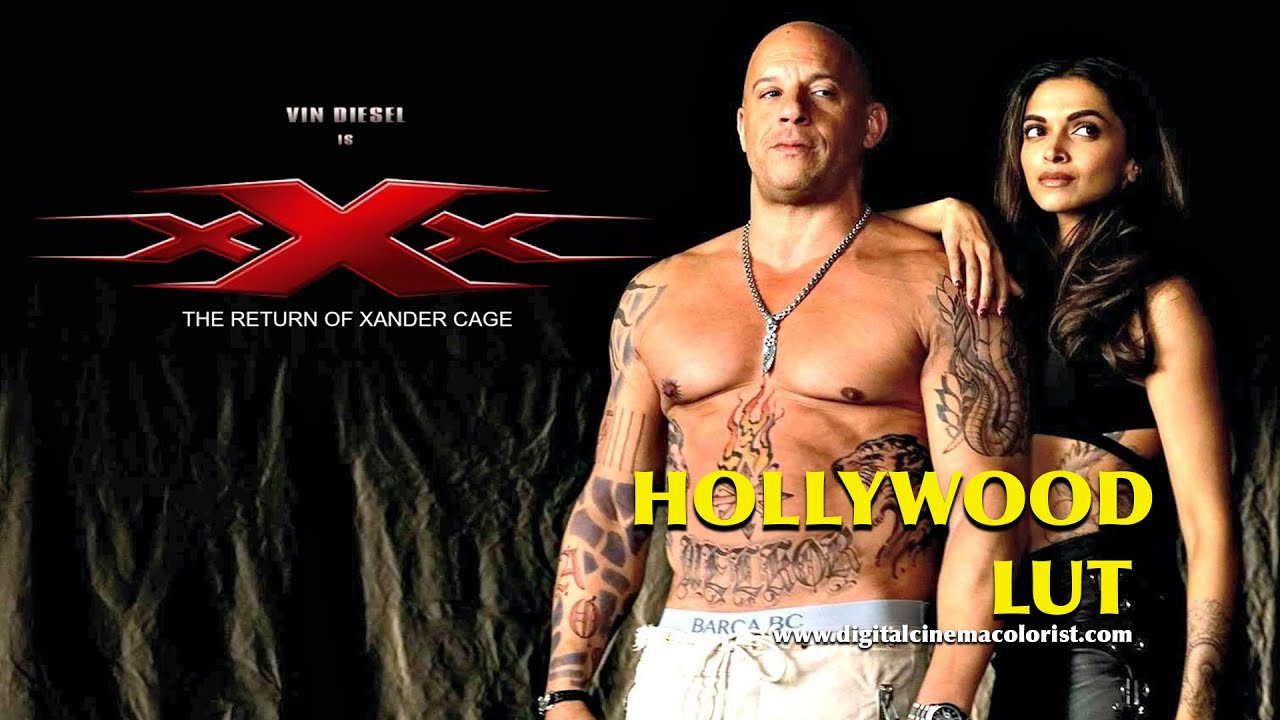 Hollywood Lut - Return of Xander Cage Demo