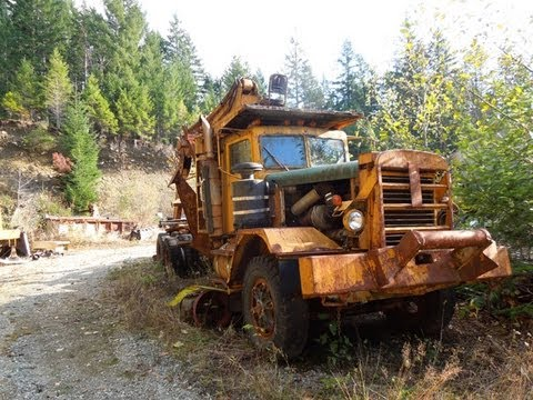 Pacific, Hayes & KW Logging & Dump Truck - YouTube