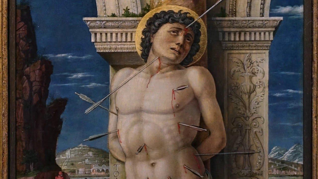 Art: Andrea Mantegna, Saint Sebastian, c. 1456-59