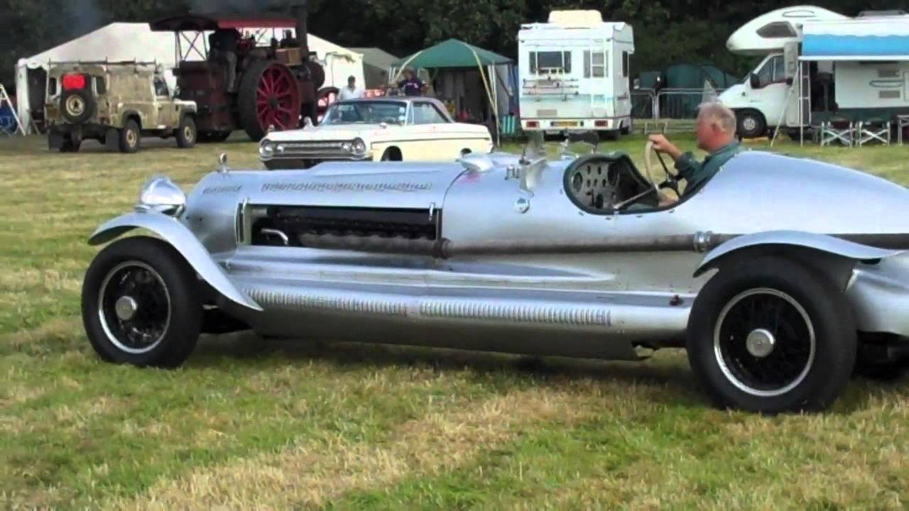SPITFIRE ENGINED CAR