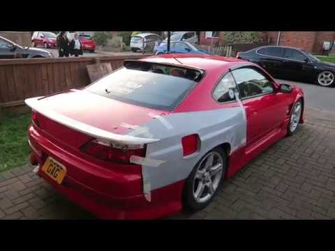CUTTING IT UP!! -  Wide Arch S15 Project