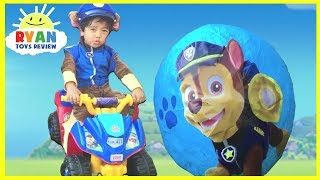PAW PATROL GIANT SURPRISE EGGS TOYS COLLECTION