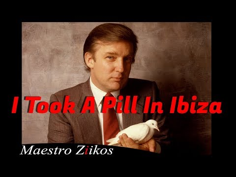 Mike Posner - I Took A Pill In Ibiza ( cover by Donald Trump )