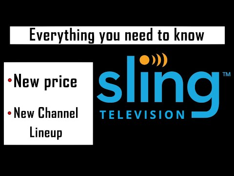 Breakdown Of Sling TV's Price And Channel Lineup Changes