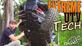XP 1000 RZR Skid Plate Install - Extreme UTV Tech Ep1