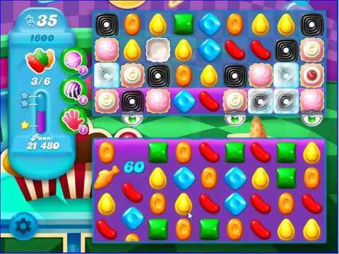Candy crush saga soda level 1600 ce youtube - 1600 candy crush ...