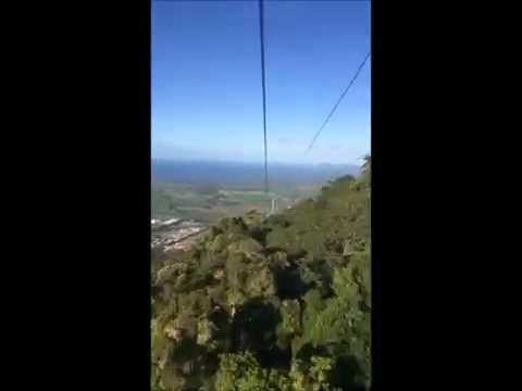 Cairns Skyrail Rainforest Cableway Time Lapse