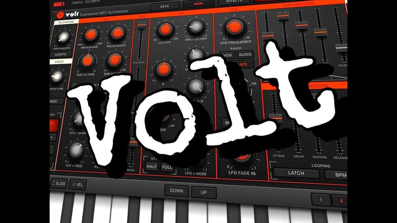 VOLT Synthesizer - Update Demo for the iPad - Brilliant Synth