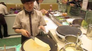 Ice Cream Crepe Cone - Shinsegae Dept. Store - Ansan Answers