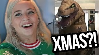 DIRTY CHRISTMAS SWEATERS & DINOSAURS?! (Lunchy Break)