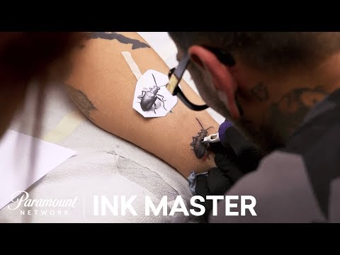 Micro Realistic Tattoo: Technical Application - Flash Challenge | Ink Master: Return of the Masters