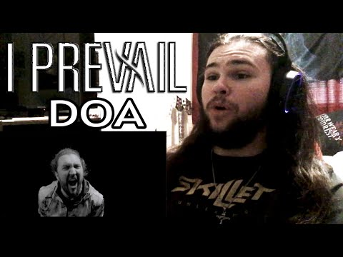 "METAL BASSIST REACTS TO ""DOA"" BY I PREVAIL (feat. Joyner Lucas) NEW 2020"