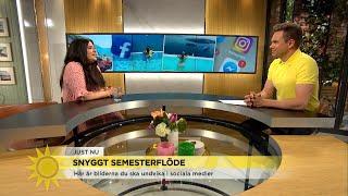 Här är semesterbilderna du INTE ska lägga ut i sociala medier - Nyhetsmorgon (TV4)
