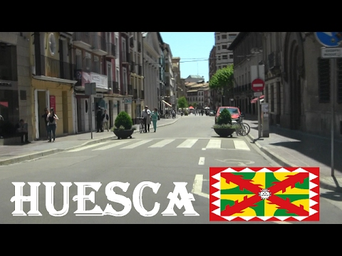 Huesca , Por las Calles de Huesca , Aragón / Streets of Huesca , Spain