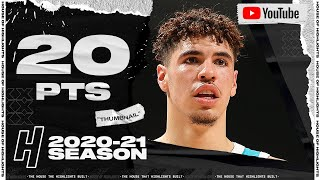 LaMelo Ball 20 Pts 10 Reb Full Highlights vs Timberwolves | February 12, 2021 | 2020-21 NBA Season